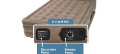 Insta-Bed Raised Air Mattress with Never Flat Pump Reviews