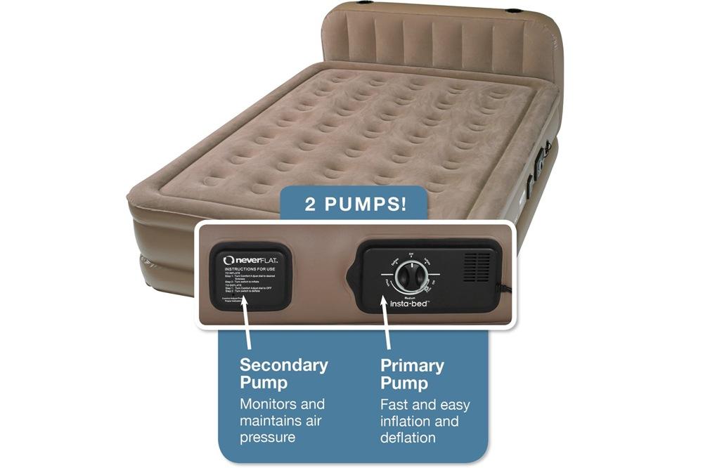insta bed air mattress Insta Bed Raised Air Mattress with Never Flat Pump Reviews | Top  insta bed air mattress